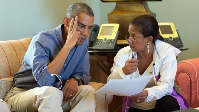susan rice deception in the WH