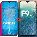 Oppo F9 Vs Oppo F9 Pro