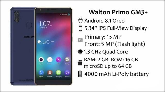Walton Primo GM3 Plus