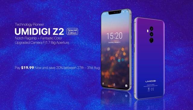 UMIDIGI Z2 Special Edition