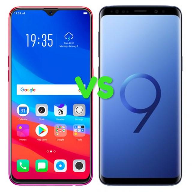 Oppo F9 Vs Samsung S9