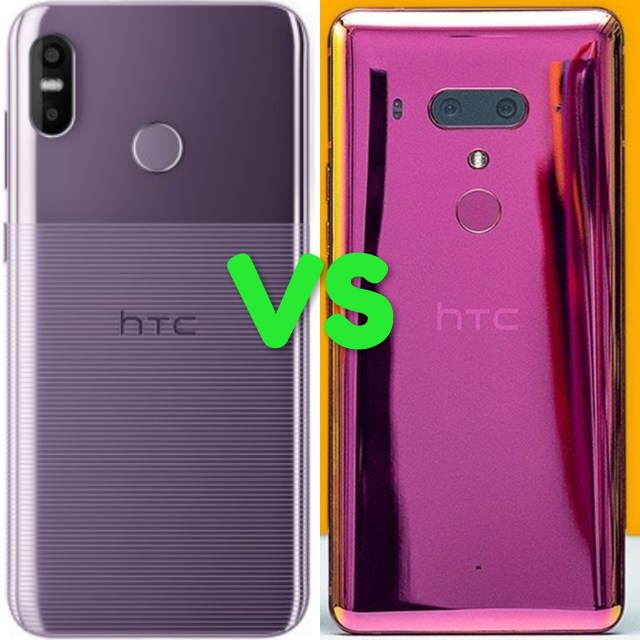 HTC U12 Life Vs U12 Plus