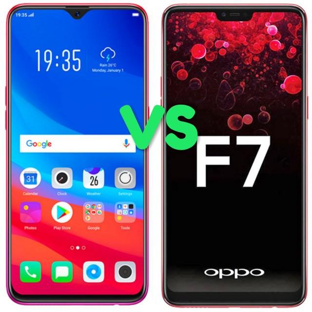 Oppo F9 Vs Oppo F7