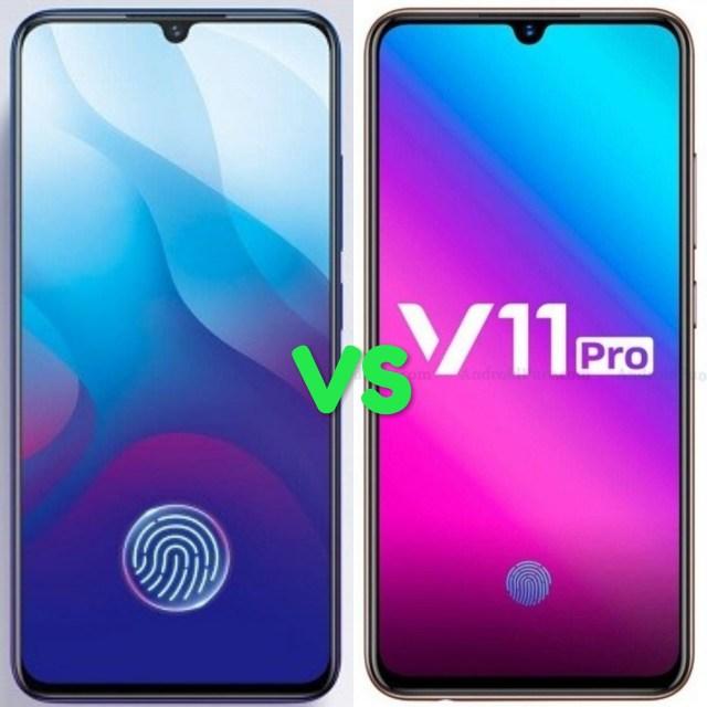 Vivo V11 Vs V11 Pro