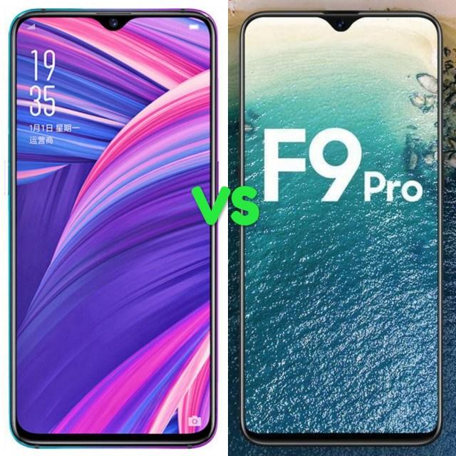 Oppo R17 Pro Vs F9 Pro