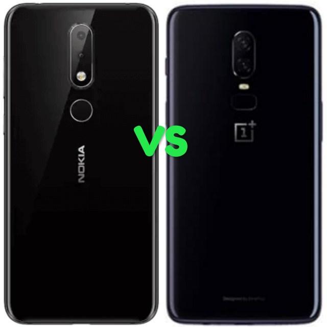 Nokia 6.1 Plus Vs OnePlus 6