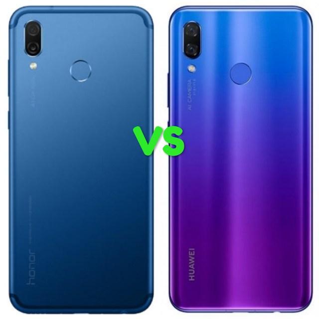 Huawei Honor Play Vs Nova 3i