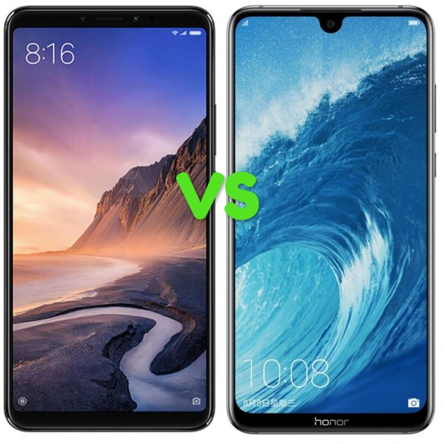 Xiaomi Mi Max 3 Vs Huawei Honor 8X Max