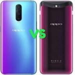 Oppo R17 Pro Vs Find X