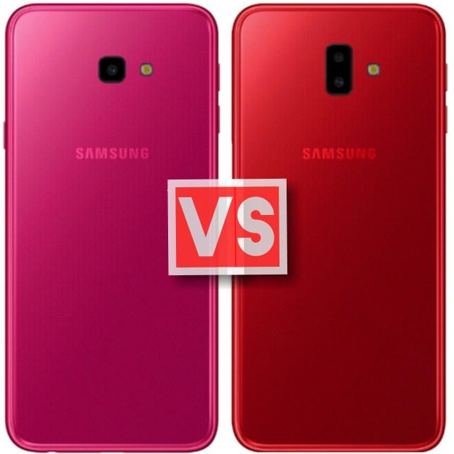 Samsung Galaxy J4 Plus Vs J6 Plus