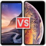 Xiaomi Mi Max 3 Vs iPhone XS Max