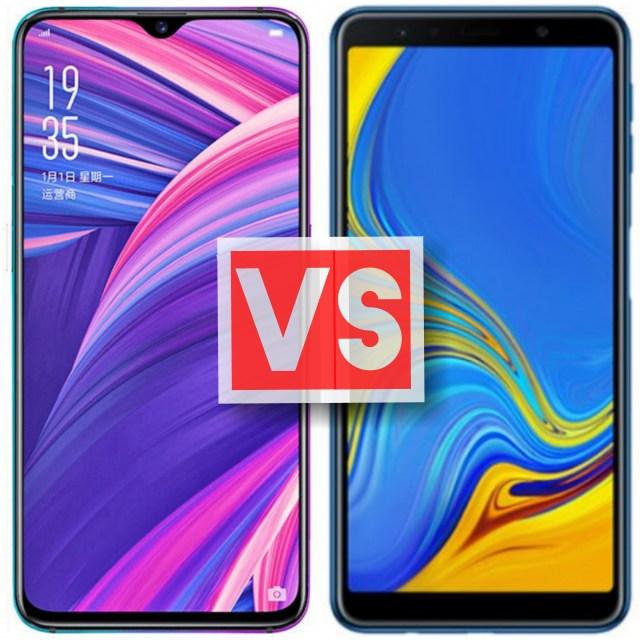 Huawei P20 Pro Vs Samsung Galaxy A7 2018