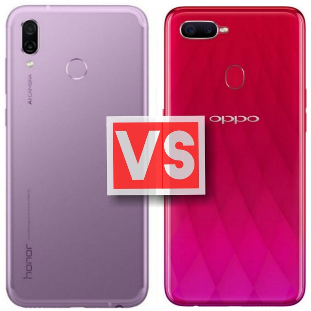 Huawei Honor Play Vs Oppo F9 Pro