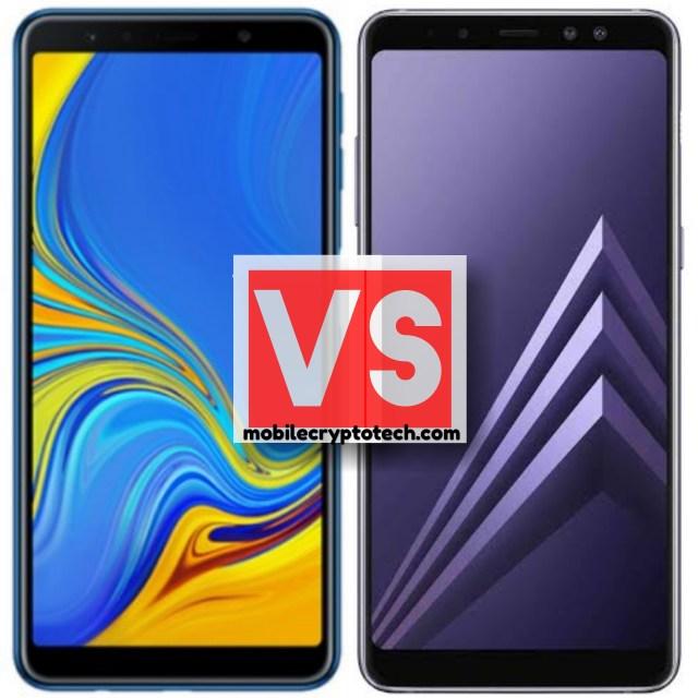 Samsung Galaxy A7 2018 Vs A8 2018