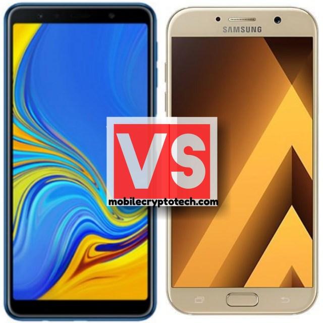 Samsung Galaxy A7 2018 Vs A7 2017