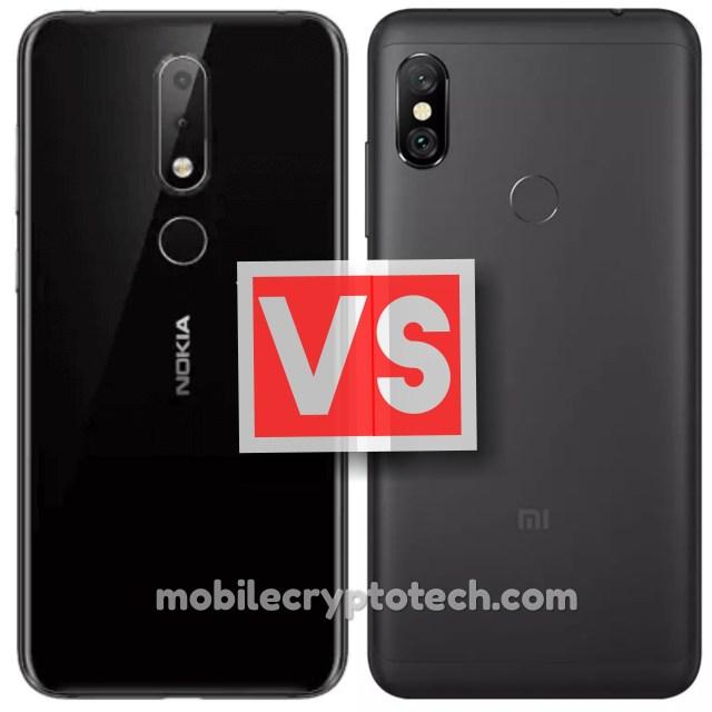 Nokia X6 Vs Redmi Note 6 Pro