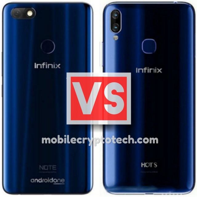 Infinix Note 5 Vs Infinix Hot S3X