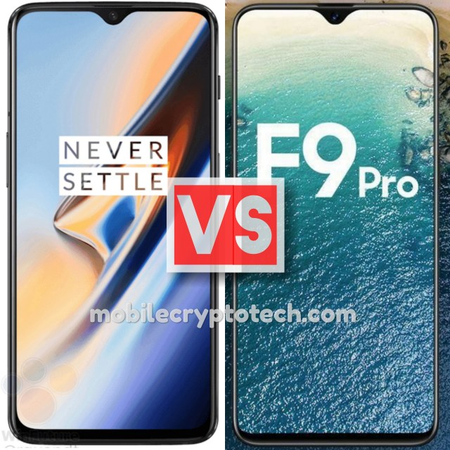 OnePlus 6T Vs Oppo F9 Pro