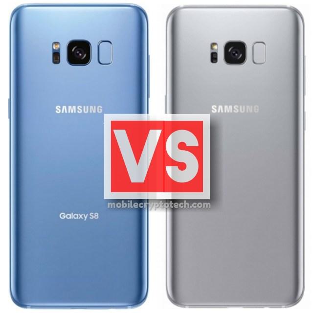 Samsung Galaxy S8 Vs S8 Plus