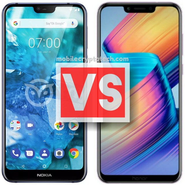 Nokia 7.1 Plus Vs Huawei Honor Play