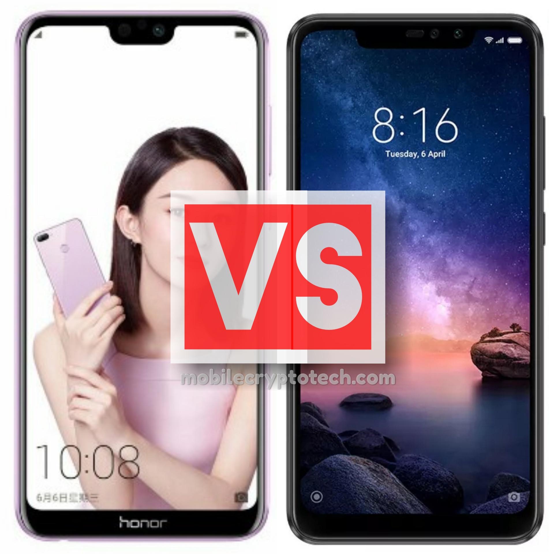 Huawei Honor 9N Vs Redmi Note 6 Pro