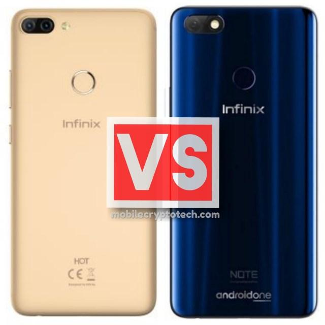 Infinix Hot 6 Pro Vs Infinix Note 5