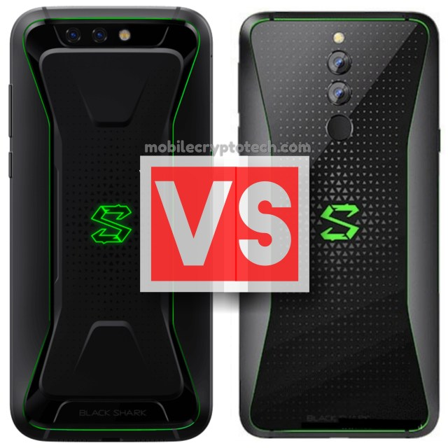 Xiaomi Black Shark Vs Black Shark Helo