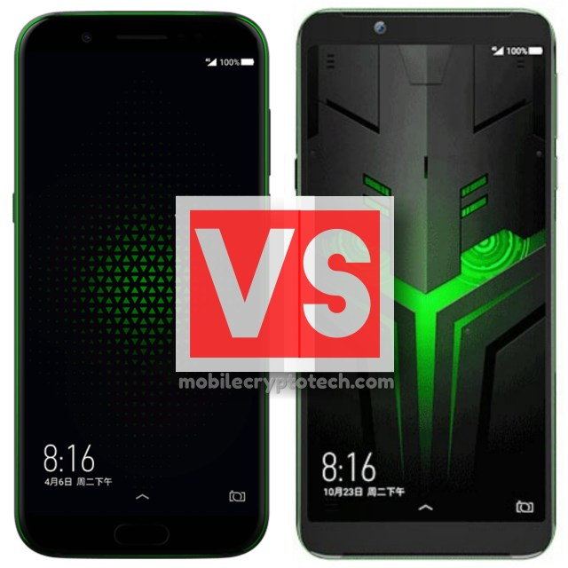 Xiaomi Black Shark Vs Black Shark Helo
