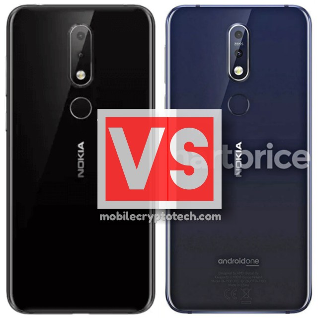 Nokia 6.1 Plus (X6) Vs 7.1 Plus (X7)
