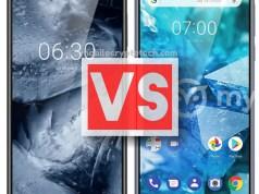 Nokia 6.1 Plus (X6) Vs 7.1 Plus (X7)