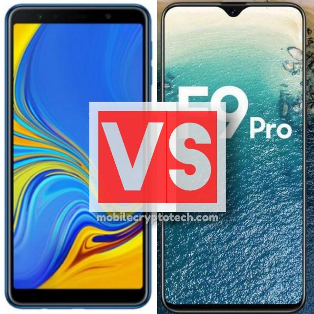 Samsung Galaxy A7 2018 Vs Oppo F9 Pro Triple Cam Or Waterdrop Notch