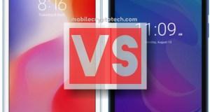 Xiaomi Redmi 6A Vs Meizu C9