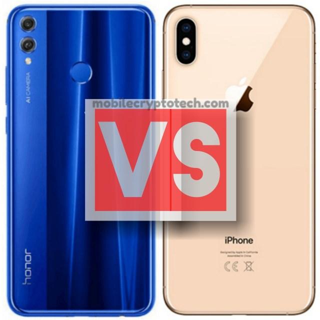 Huawei Honor 8X Vs Apple iPhone XS