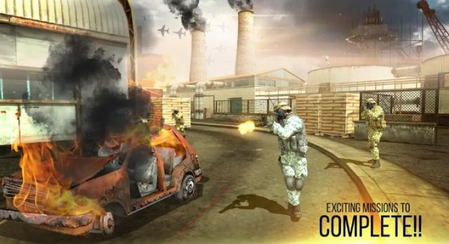 Mission Counter Attack MOD APK