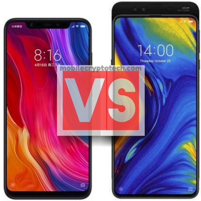 Xiaomi Mi 8 Vs Mi Mix 3