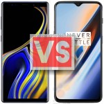 Samsung Galaxy Note 9 Vs OnePlus 6T