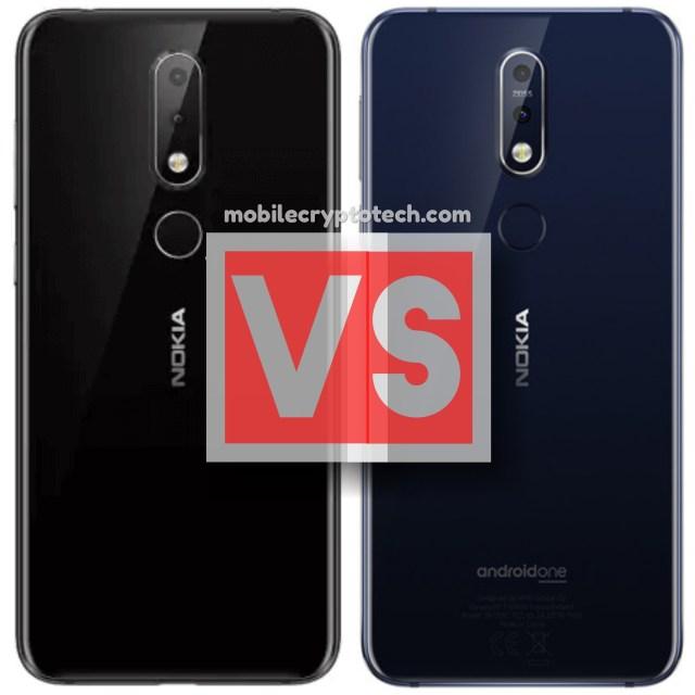 Nokia 6.1 Plus Vs 7.1
