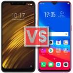 Xiaomi Pocophone F1 Vs Oppo F9