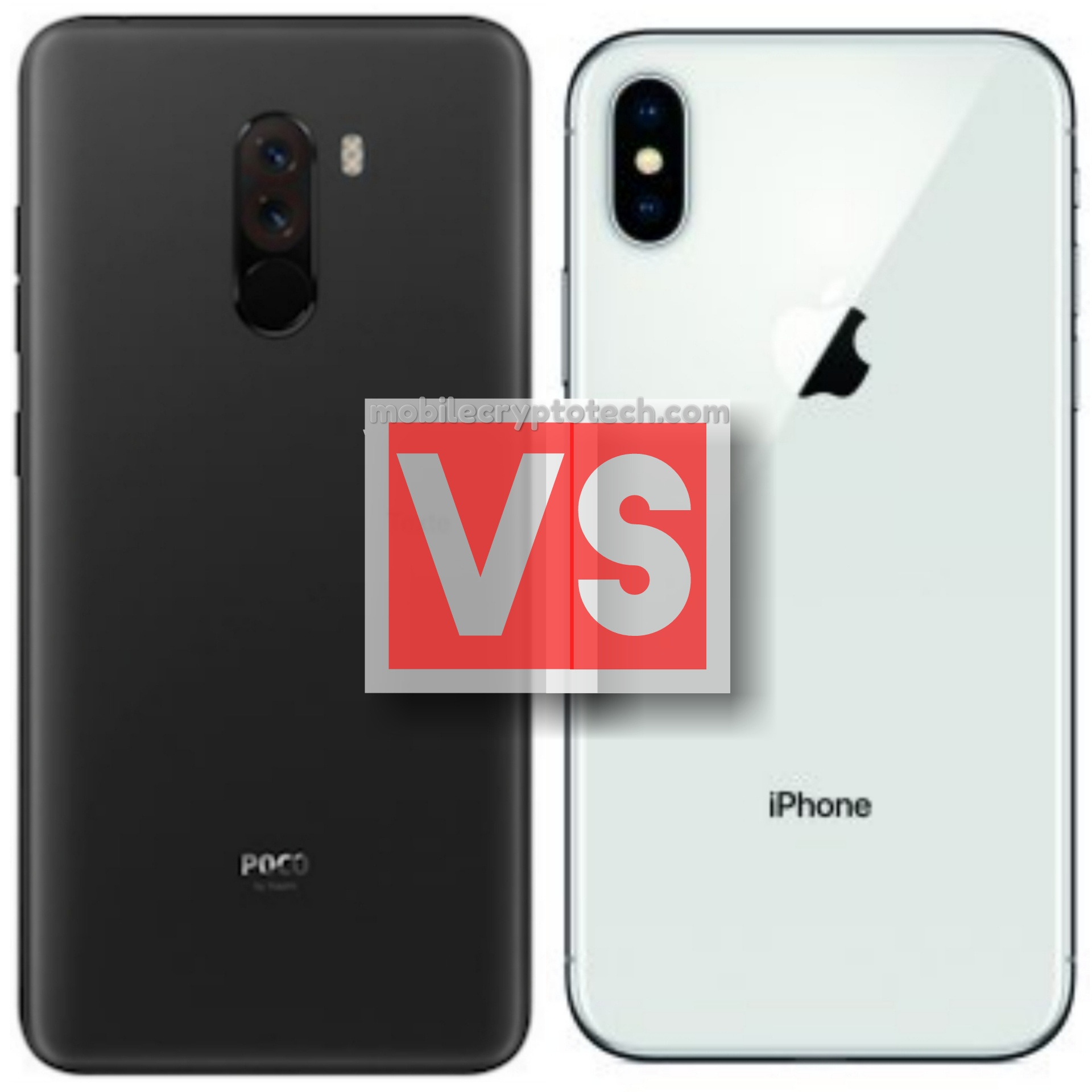 Xiaomi PocoPhone F1 Vs Apple iPhone X