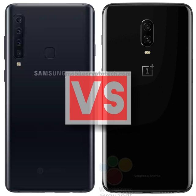 Samsung Galaxy A9 2018 Vs OnePlus 6T