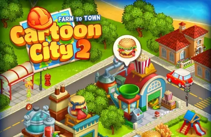 Cartoon City 2 Mod Apk Hack Cheats Unlimited Money Gems