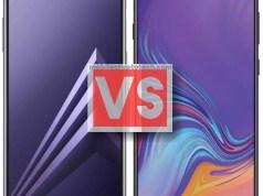 Samsung Galaxy A8 2018 Vs A9 2018
