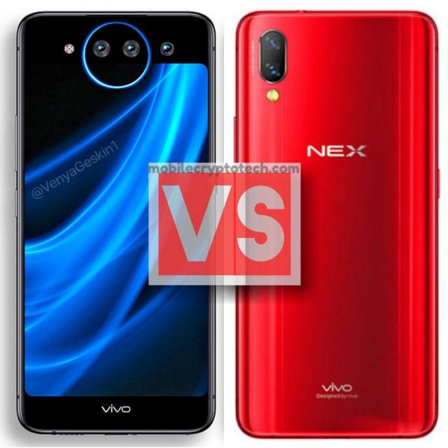 Vivo NEX Dual Display Edition Vs Vivo NEX S