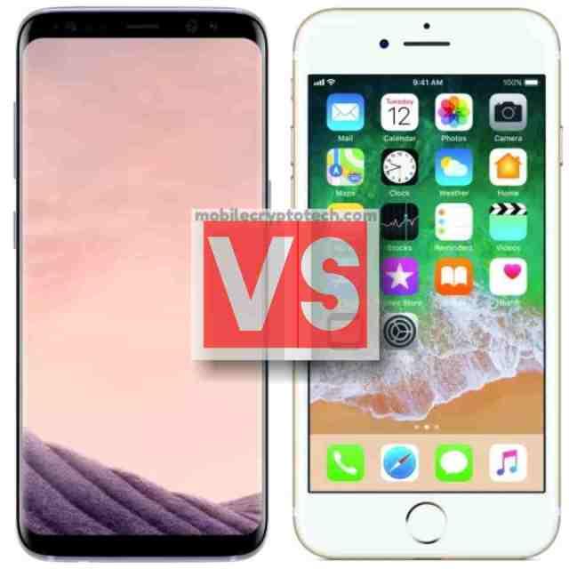 Samsung Galaxy S8 Vs Apple iPhone 7