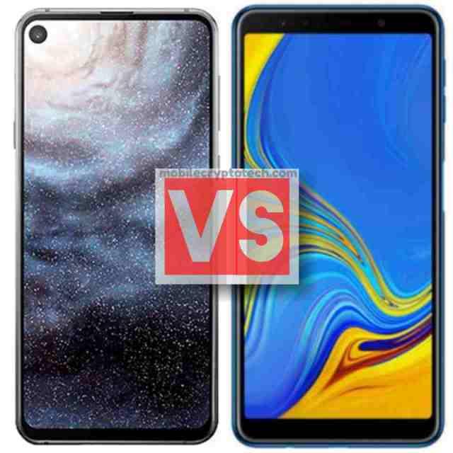 Samsung Galaxy A8s Vs A7 2018