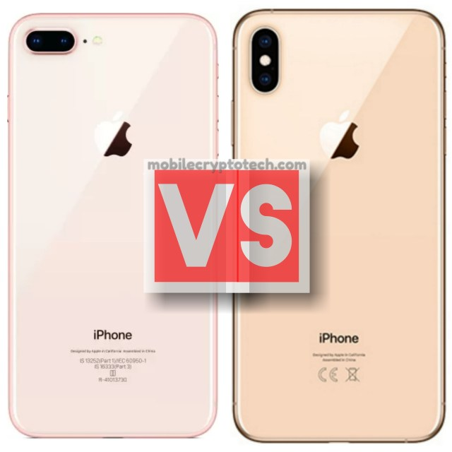 Apple iPhone 8 Plus Vs iPhone XS Max
