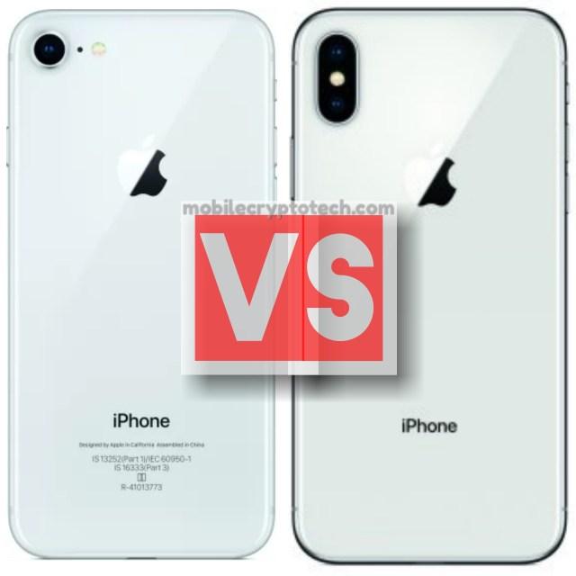 Apple iPhone 8 Vs iPhone X