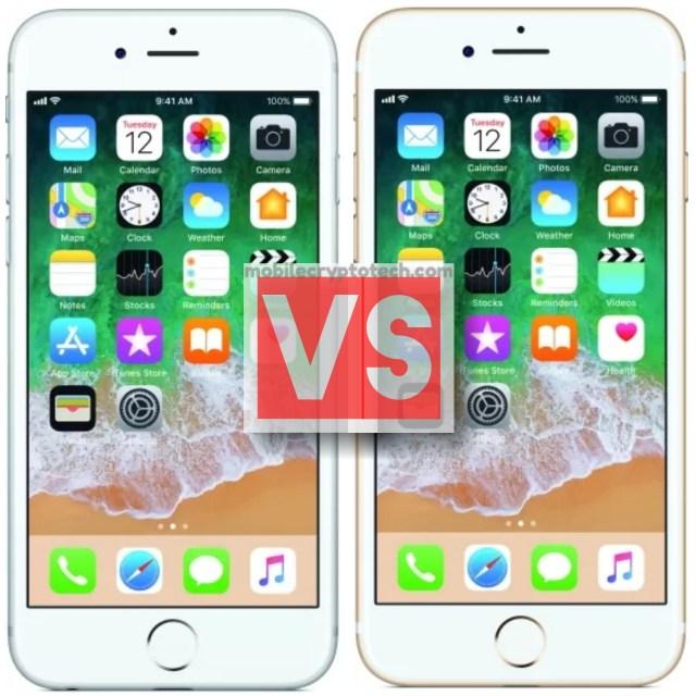 Apple iPhone 6S Vs iPhone 7