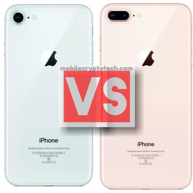 Apple iPhone 8 Vs iPhone 8 Plus