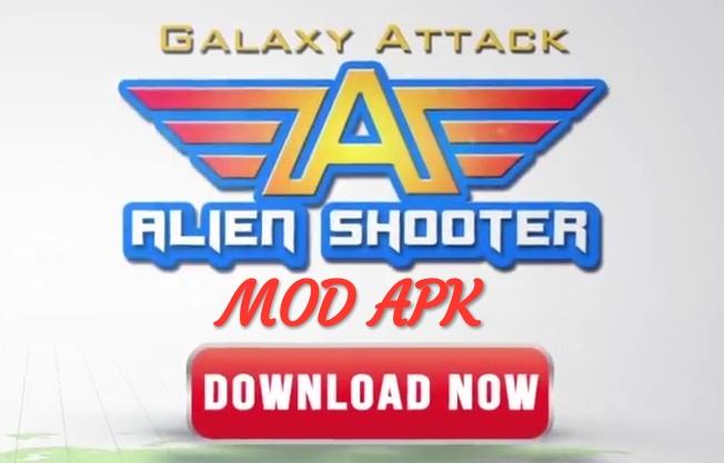 Galaxy Attack: Alien Shooter MOD APK Hack Unlimited Money